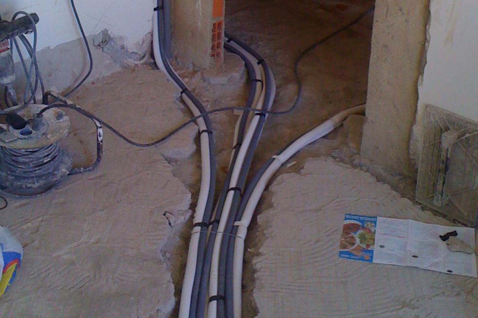 pré-instalação de ar condicionado, gama doméstica