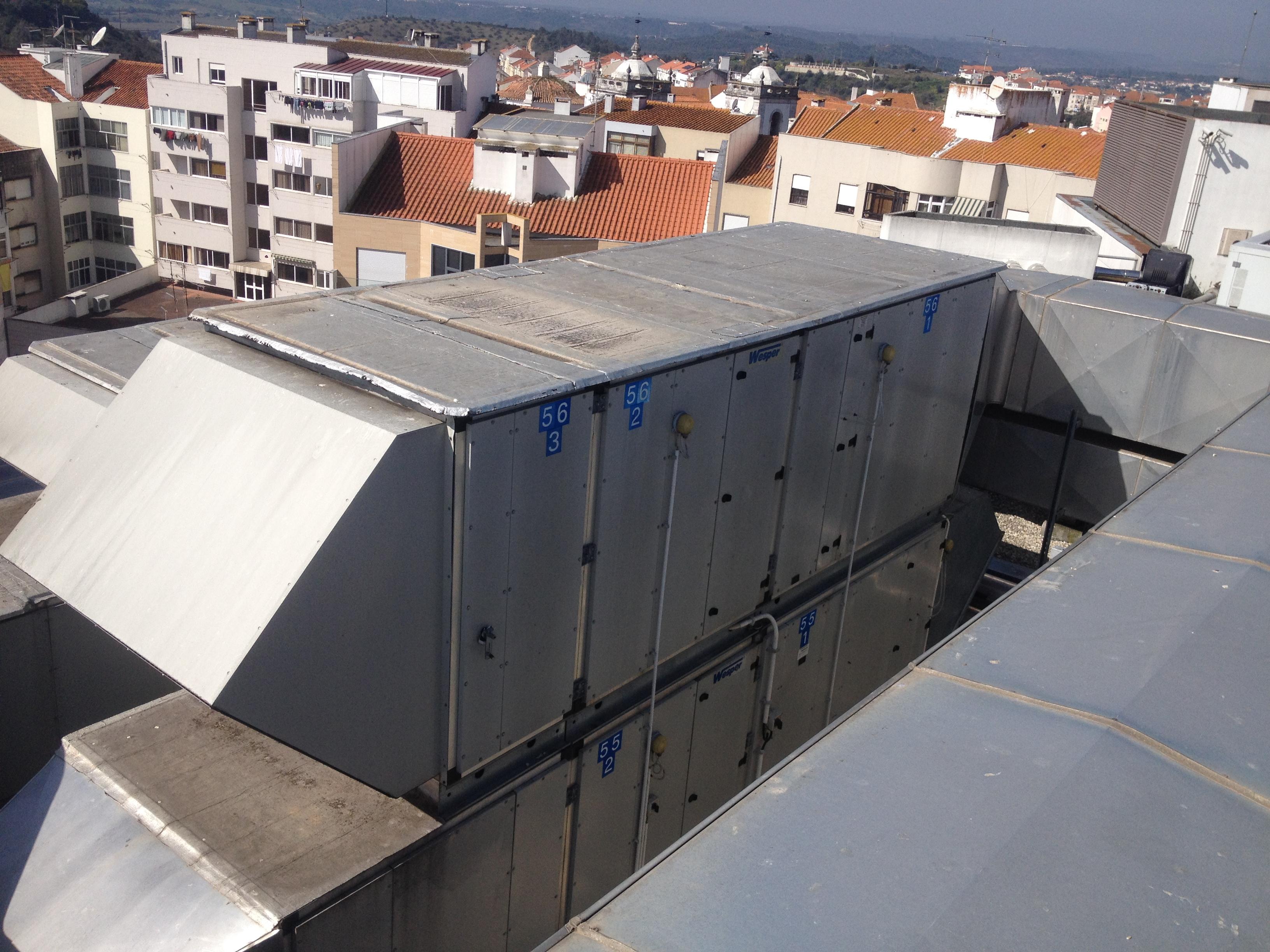 unidade tratamento de ar